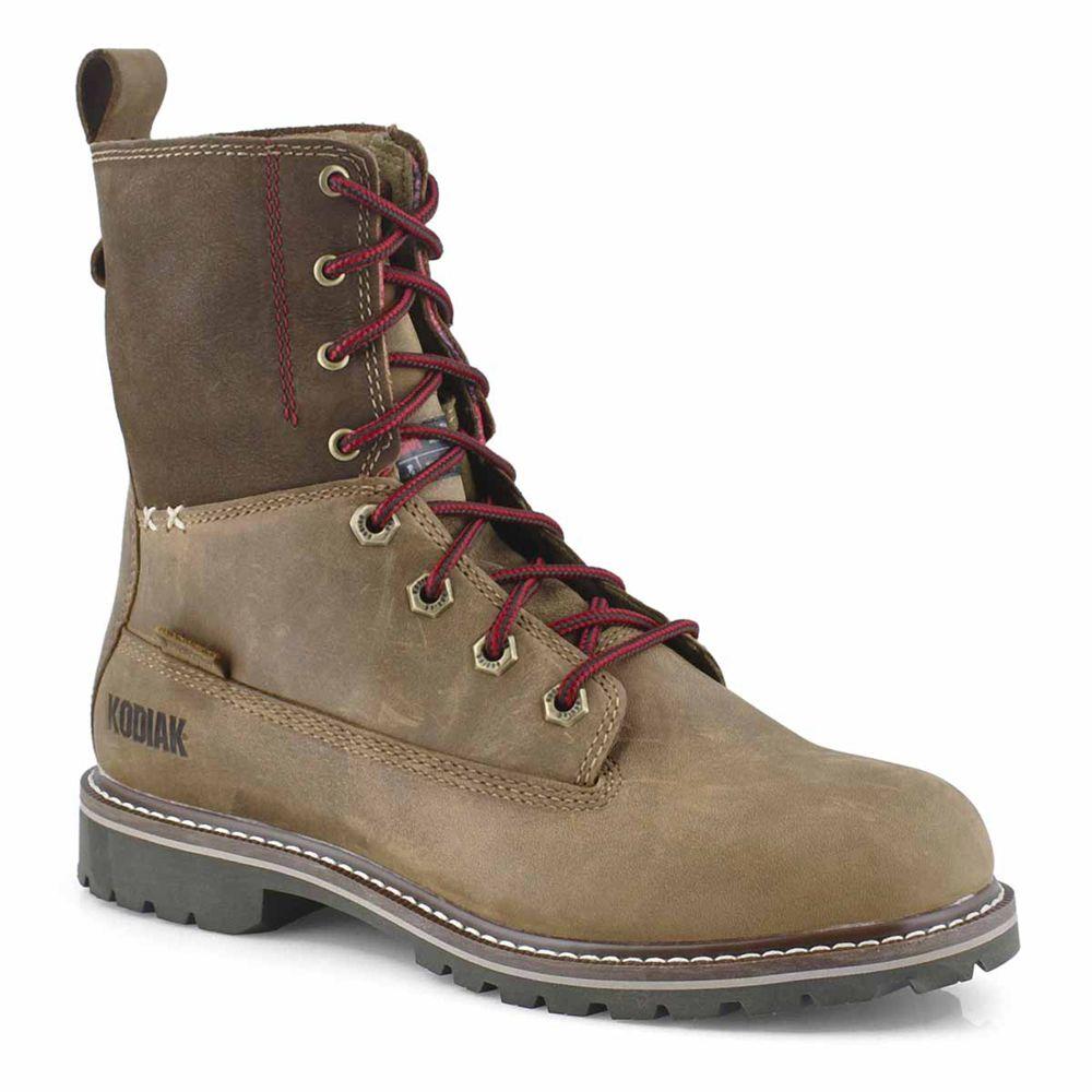 Women's Bralorne 8-Inch Waterproof Boot in Brown