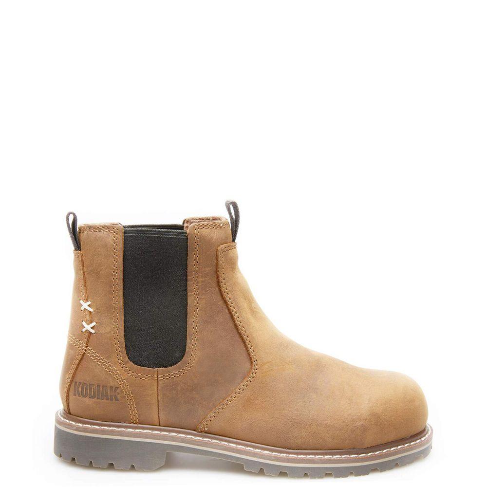 Women's Bralorne Chelsea Boot in Brown