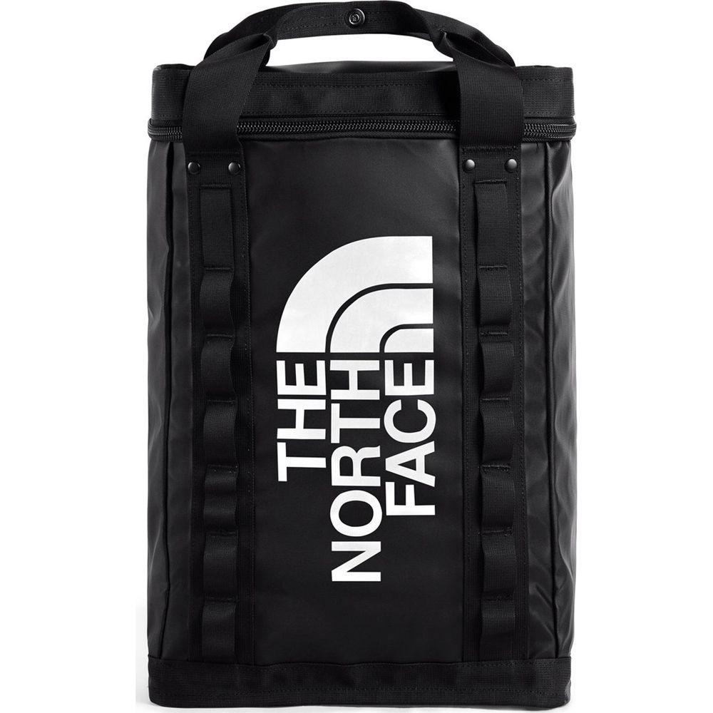 The North Face Explore Fusebox Daypack L in TNF Black/TNF White