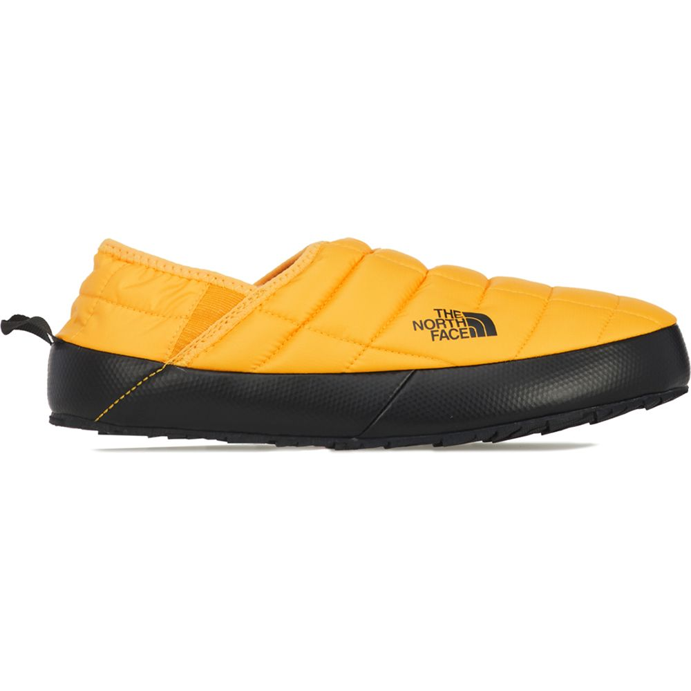 The North Face Men's Thermoball Eco Traction Mule V in Summit Gold/Black