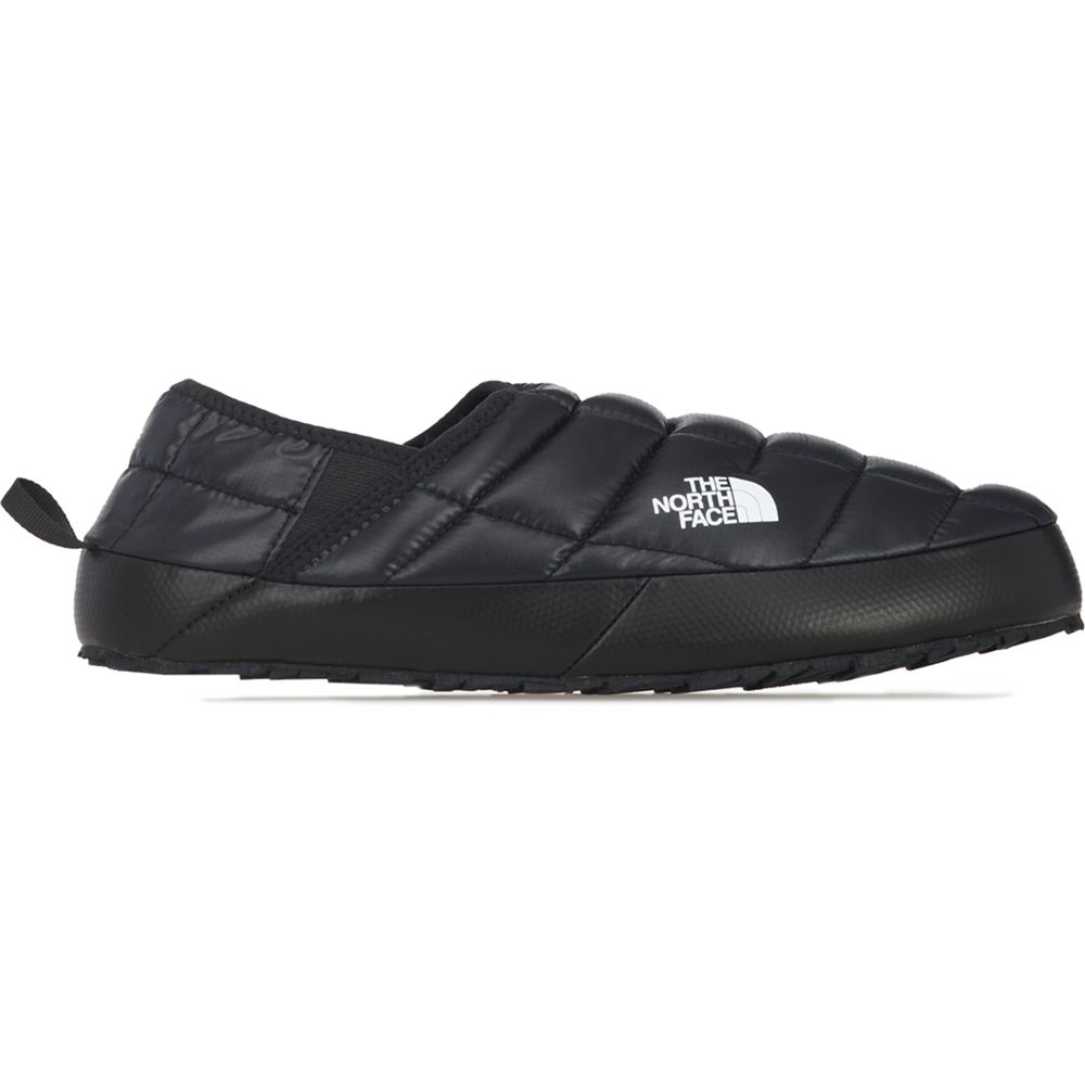 The North Face Women's Thermoball Eco Traction Mule V in TNF Black/TNF White
