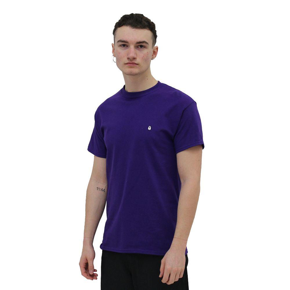 SoYou Clothing Basics T-Shirt in Purple City Bird Gang
