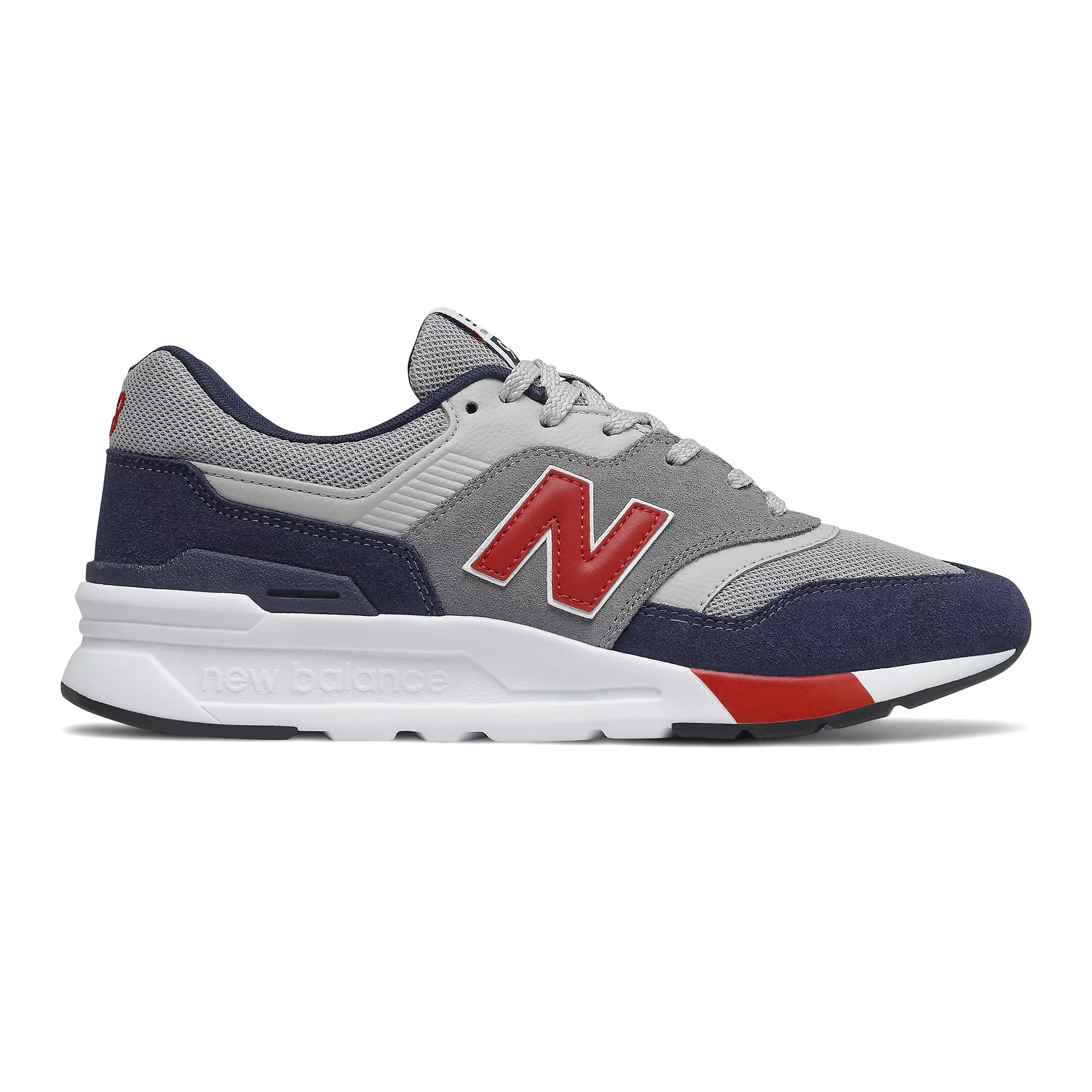 New Balance Men's 997H in Team Red/Pigment