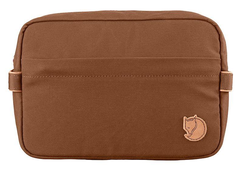 Fjällräven Travel Toiletry Bag in Chestnut