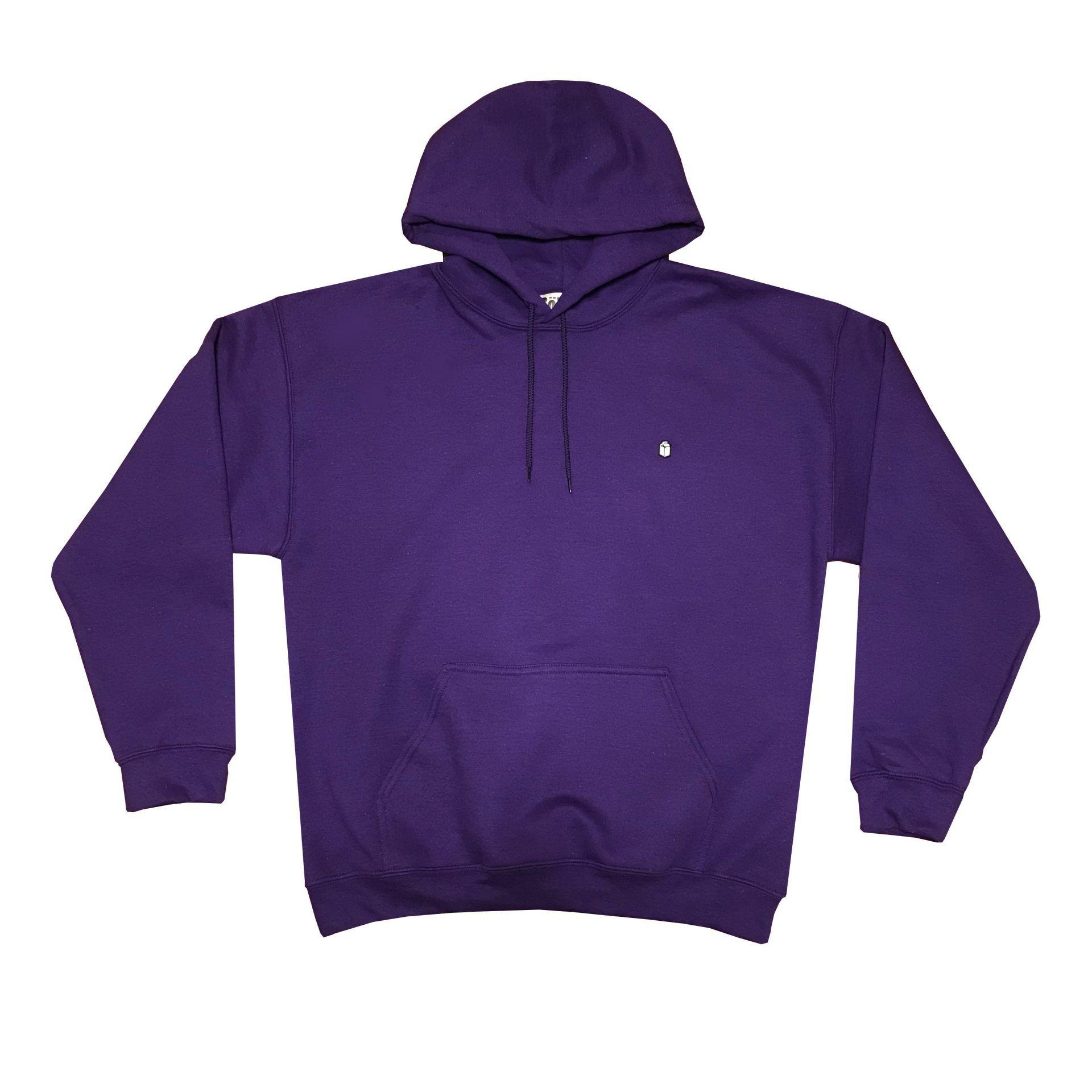 SoYou Clothing Basics Hoodie in Purple City Bird Gang