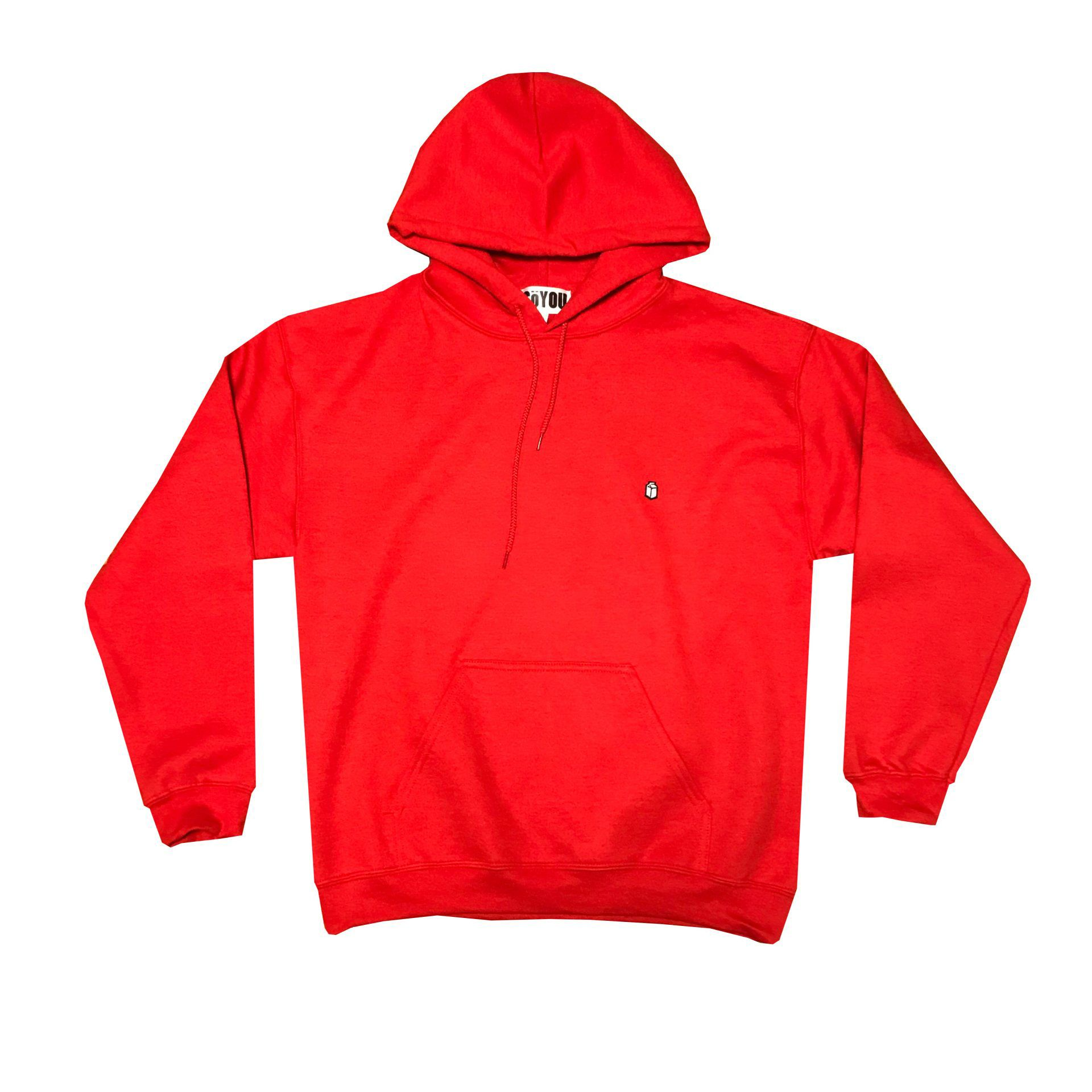 SoYou Clothing Basics Hoodie in Red Canoe