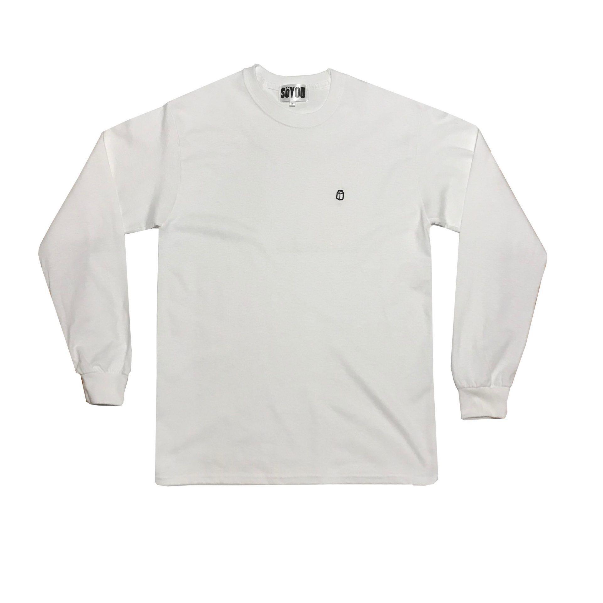 SoYou Clothing Basics Long Sleeve T-Shirt in White
