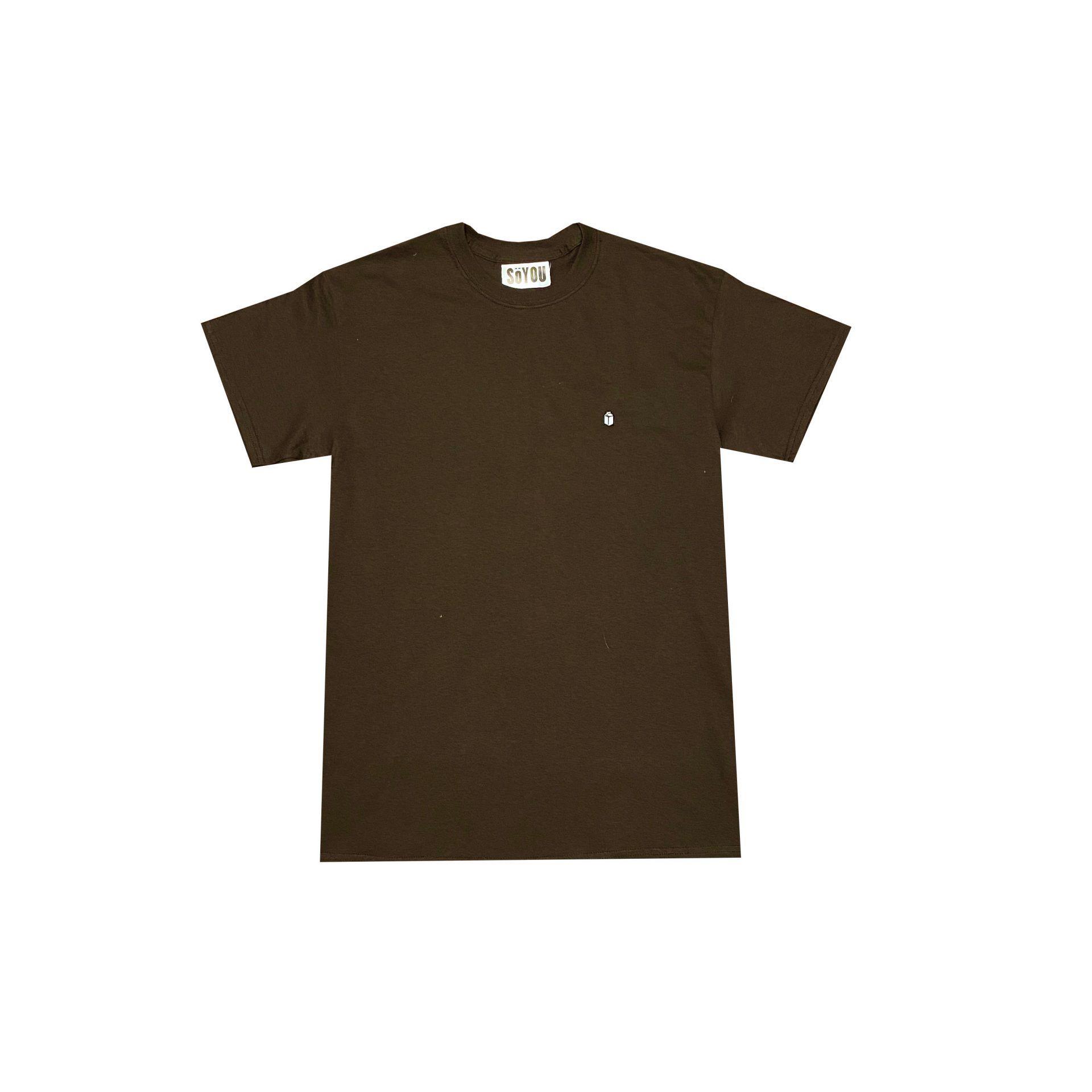 SoYou Clothing Basics T-Shirt in Dark Chocolate