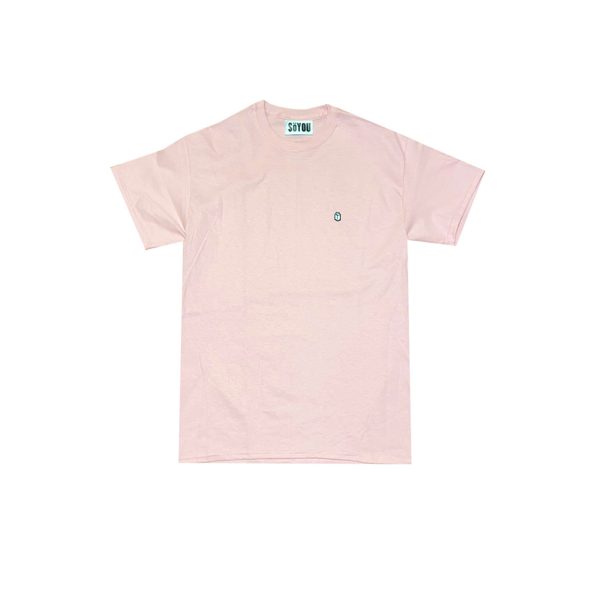 SoYou Clothing Basics T-Shirt in Hibiscus Pink