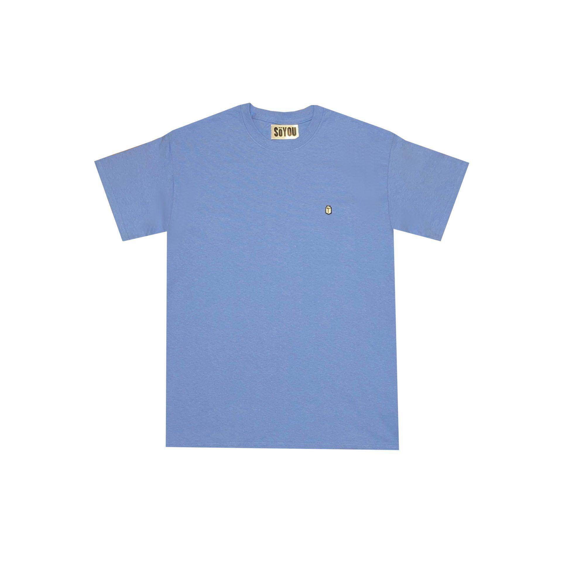 SoYou Clothing Basics T-Shirt in Periwinkle