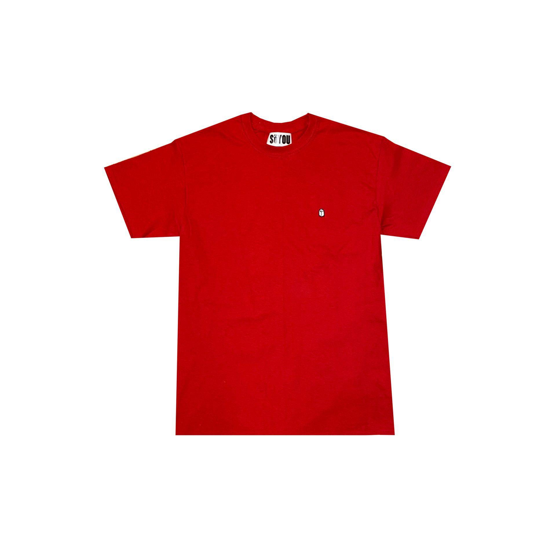 SoYou Clothing Basics T-Shirt in Red Canoe