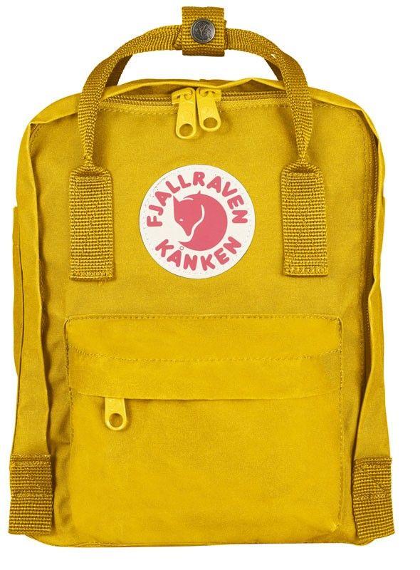 Fjällräven Kånken Mini in Warm Yellow