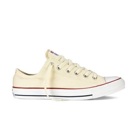 Chuck Taylor All Star Low Top in Natural White
