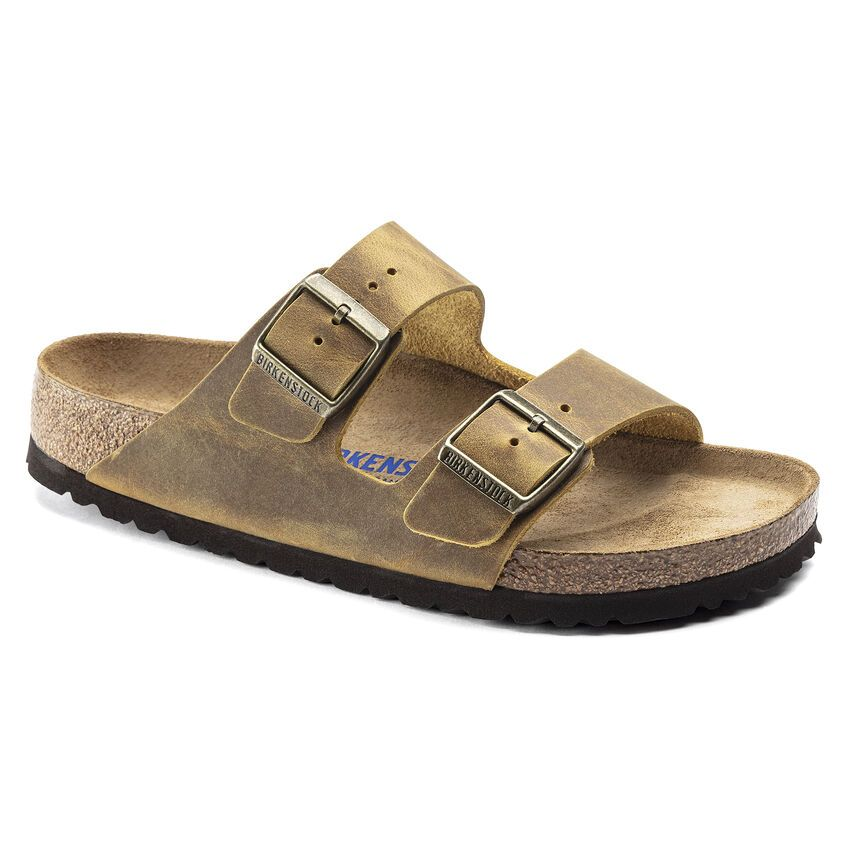 Arizona Soft Footbed Oiled Leather Regular in Ochre
