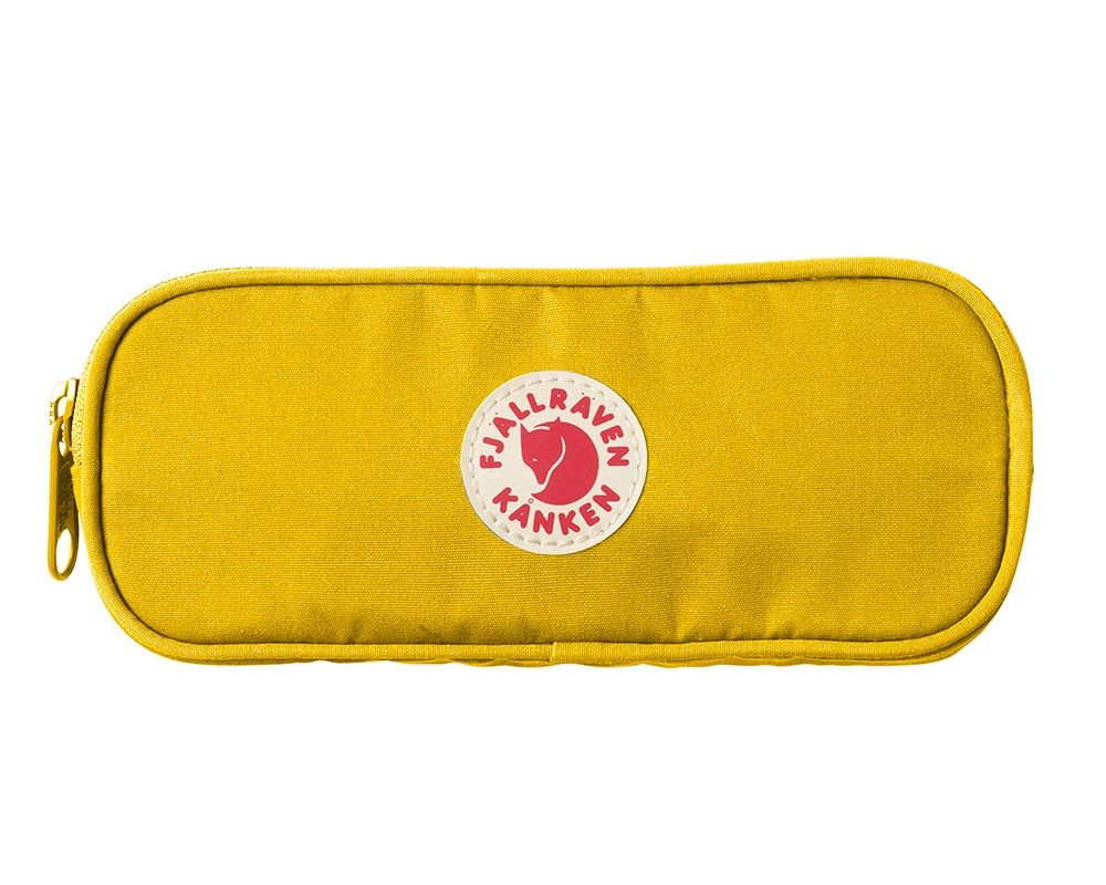 Fjällräven Kånken Pen Case in Warm Yellow