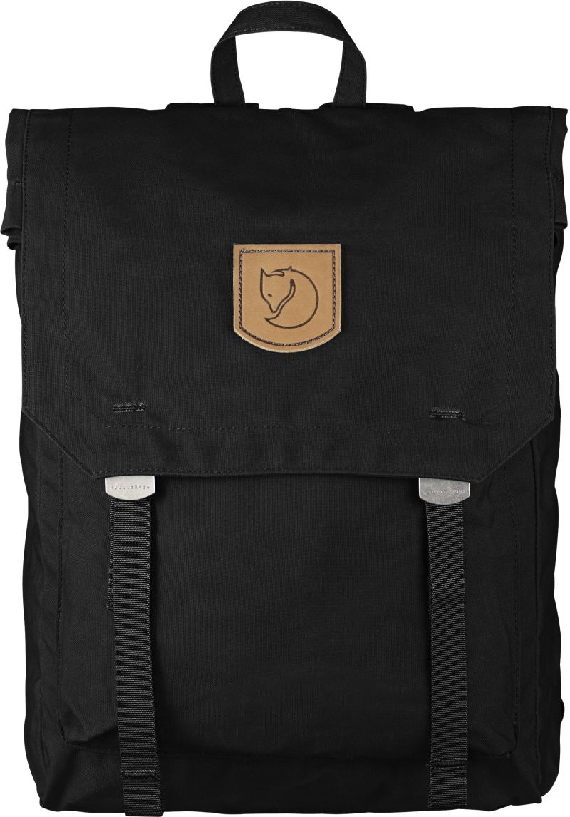 Fjällräven Foldsack No. 1 in Black