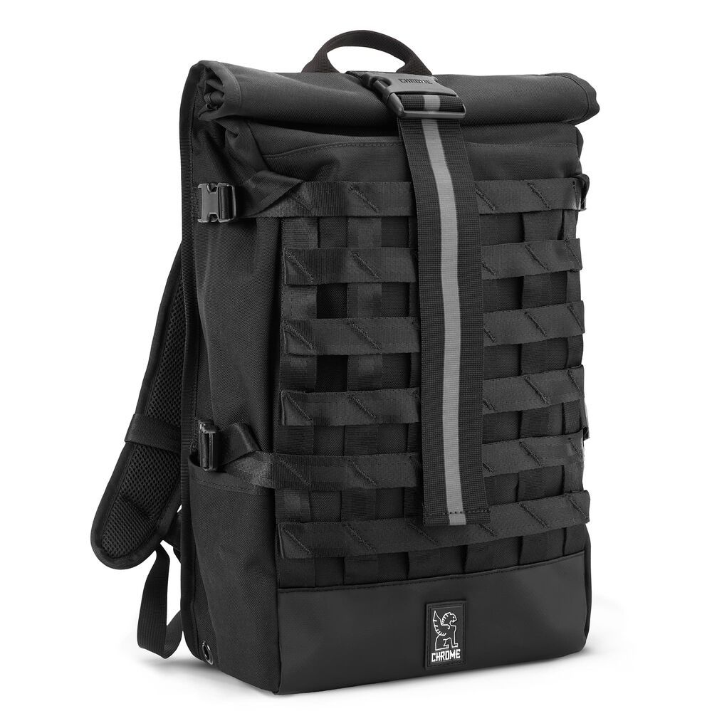 Chrome Industries Barrage Cargo Backpack in All Black