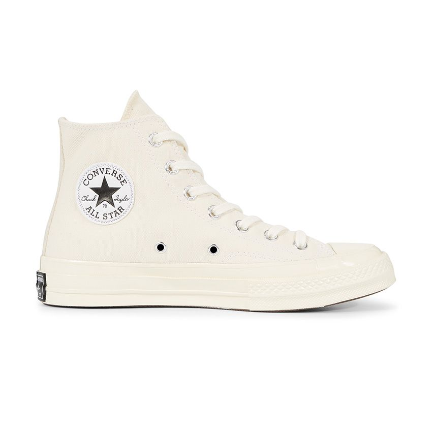 Converse Chuck 70 High Top in Natural/Black/Egret