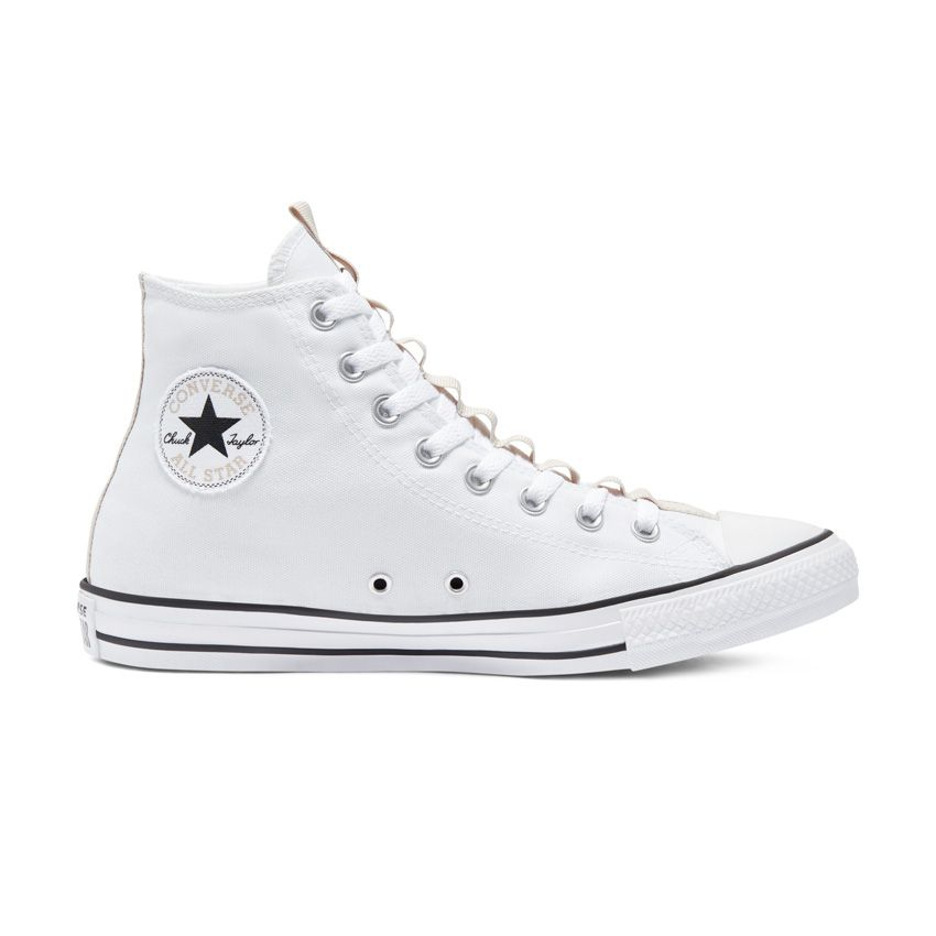 Converse Alt Exploration Chuck Taylor All Star High Top in White/String/Black