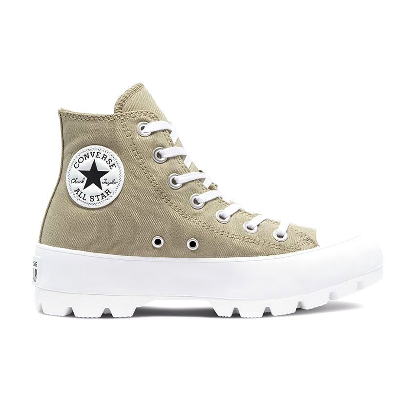 Converse Canvas Utility Chuck Taylor All Star Lugged High Top in Light Field Surplus