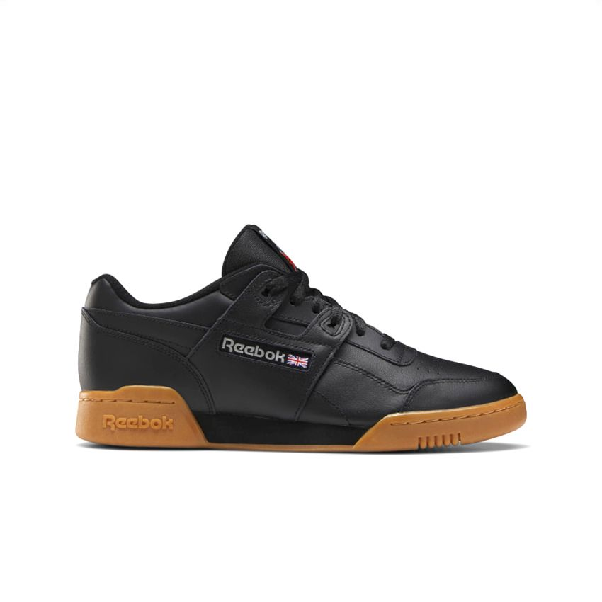 Reebok Men's Workout Plus in Black/Carbon/Classic Red