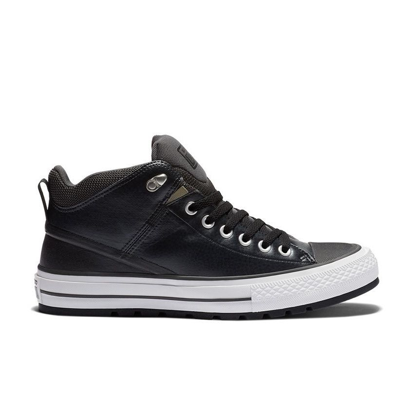 Converse Chuck Taylor All Star Street Boot in Black/Storm Wind/White