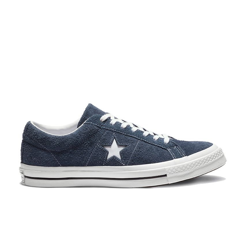 Converse One Star Premium Suede Low Top in Blue