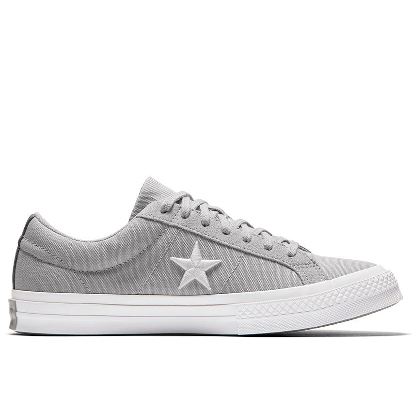 Converse One Star Country Pride Low Top in Ash Grey/White/Mason