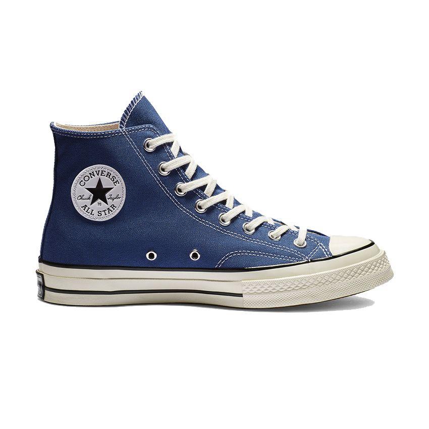 Converse Chuck 70 High Top in True Navy/Black/Egret