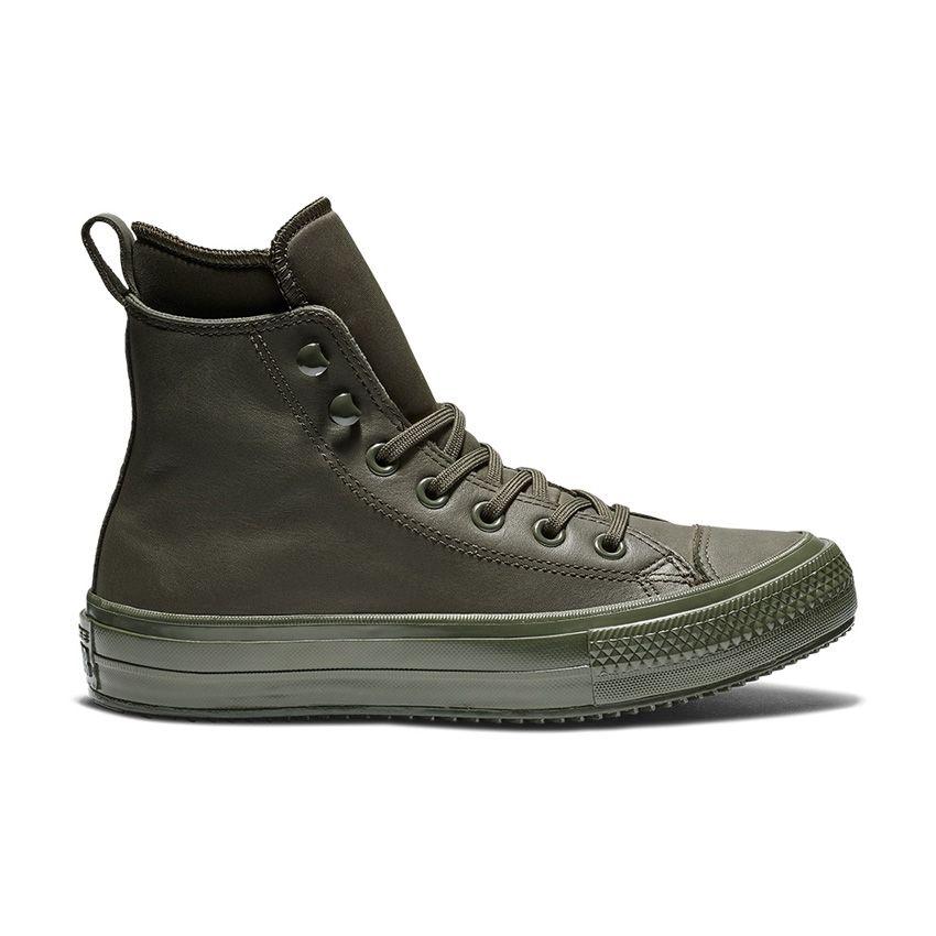 Converse Chuck Taylor All Star Waterproof Boot in Utility Green/Utility Green/Utility Green
