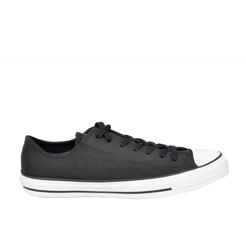 Converse Chuck Taylor All Star ballistique nylon coupe basse en noir/noir/blanc