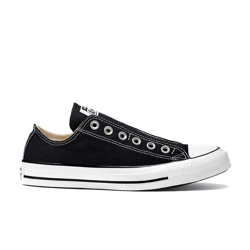 Converse Chuck Taylor All Star Slip in Black/White/Black