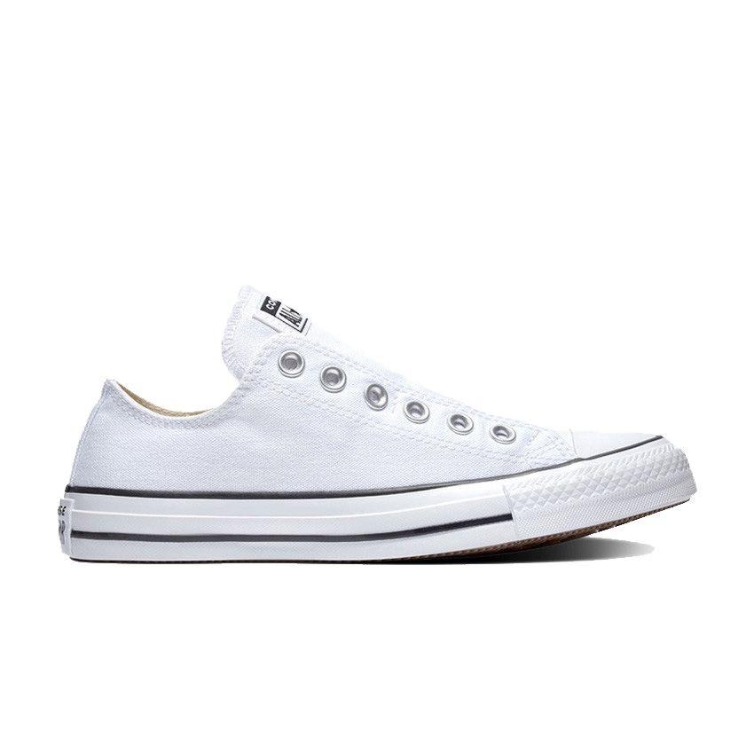 Converse Chuck Taylor All Star Slip in White/Black/White