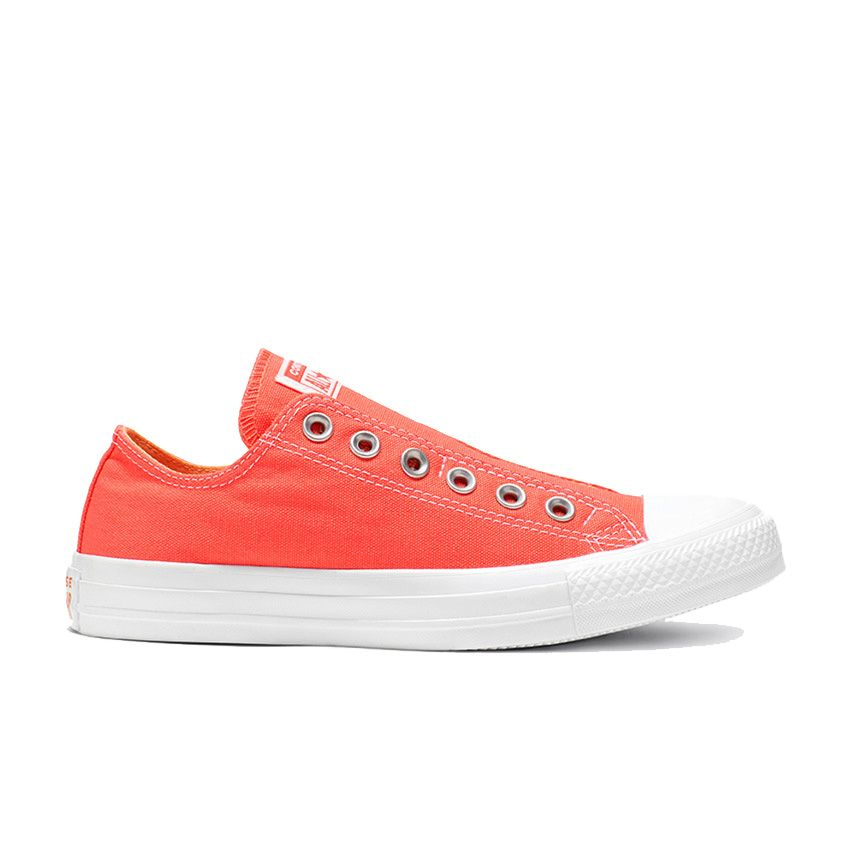 Converse Chuck Taylor All Star Boardwalk Summers Slip in Turf Orange/Melon Baller/White