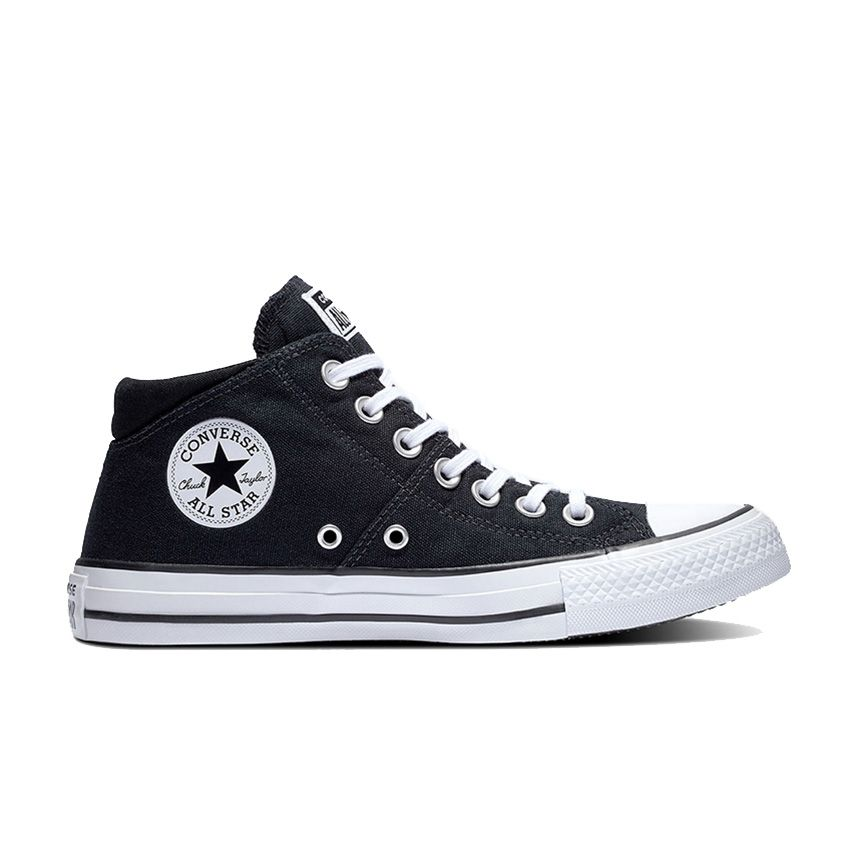 Converse Chuck Taylor All Star Madison Mid in Black/Black/White