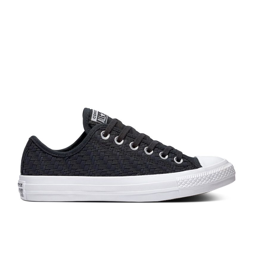 Converse Chuck Taylor All Star Low Top in Black/Egret/White