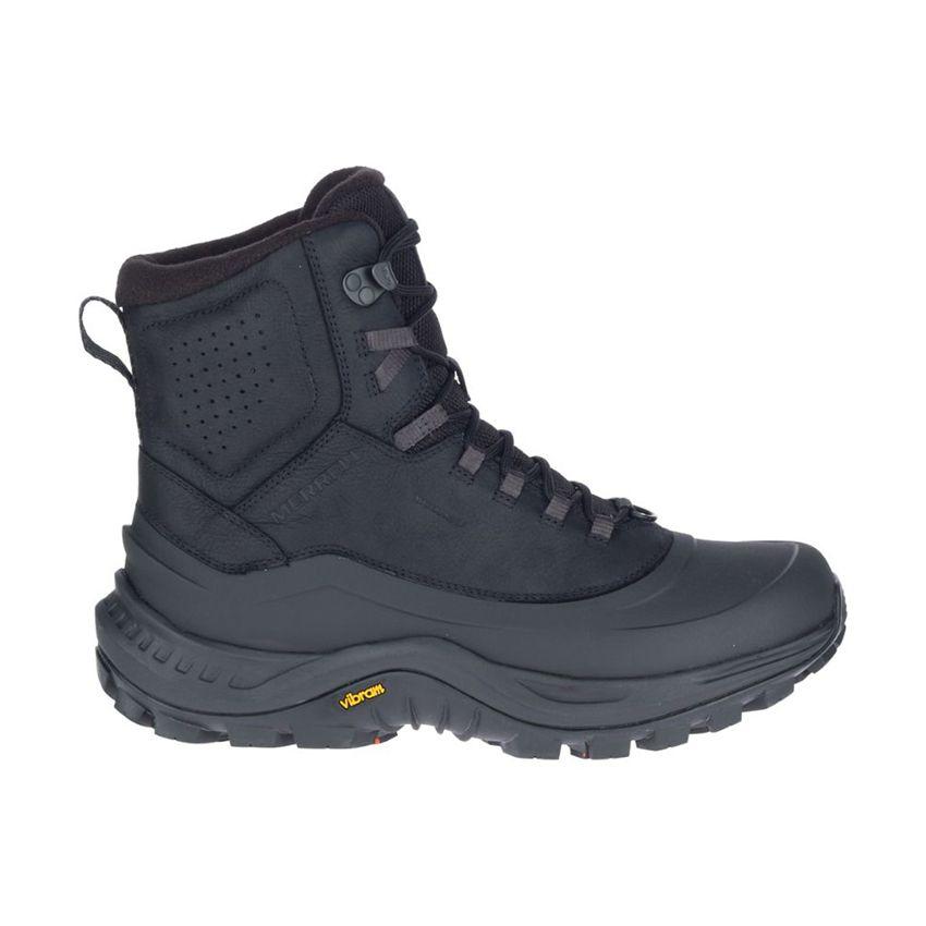 Merrell Men's Thermo Overlook 2 Mid Waterproof Wide Boots in Black