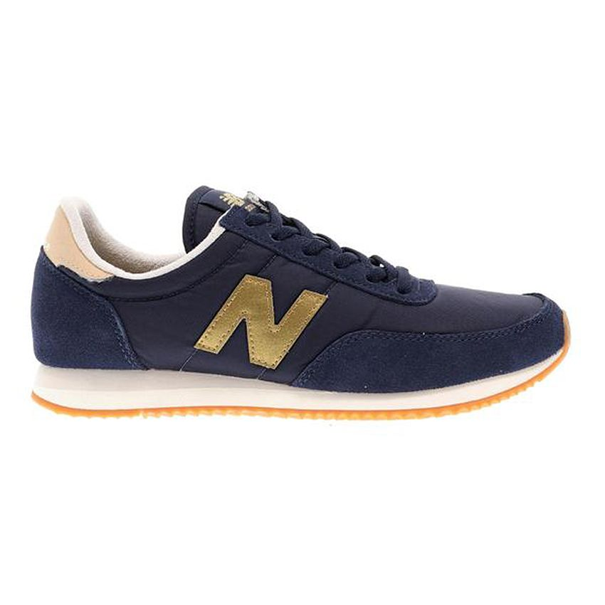 New Balance Women's 720 in Pigment/Classic Gold