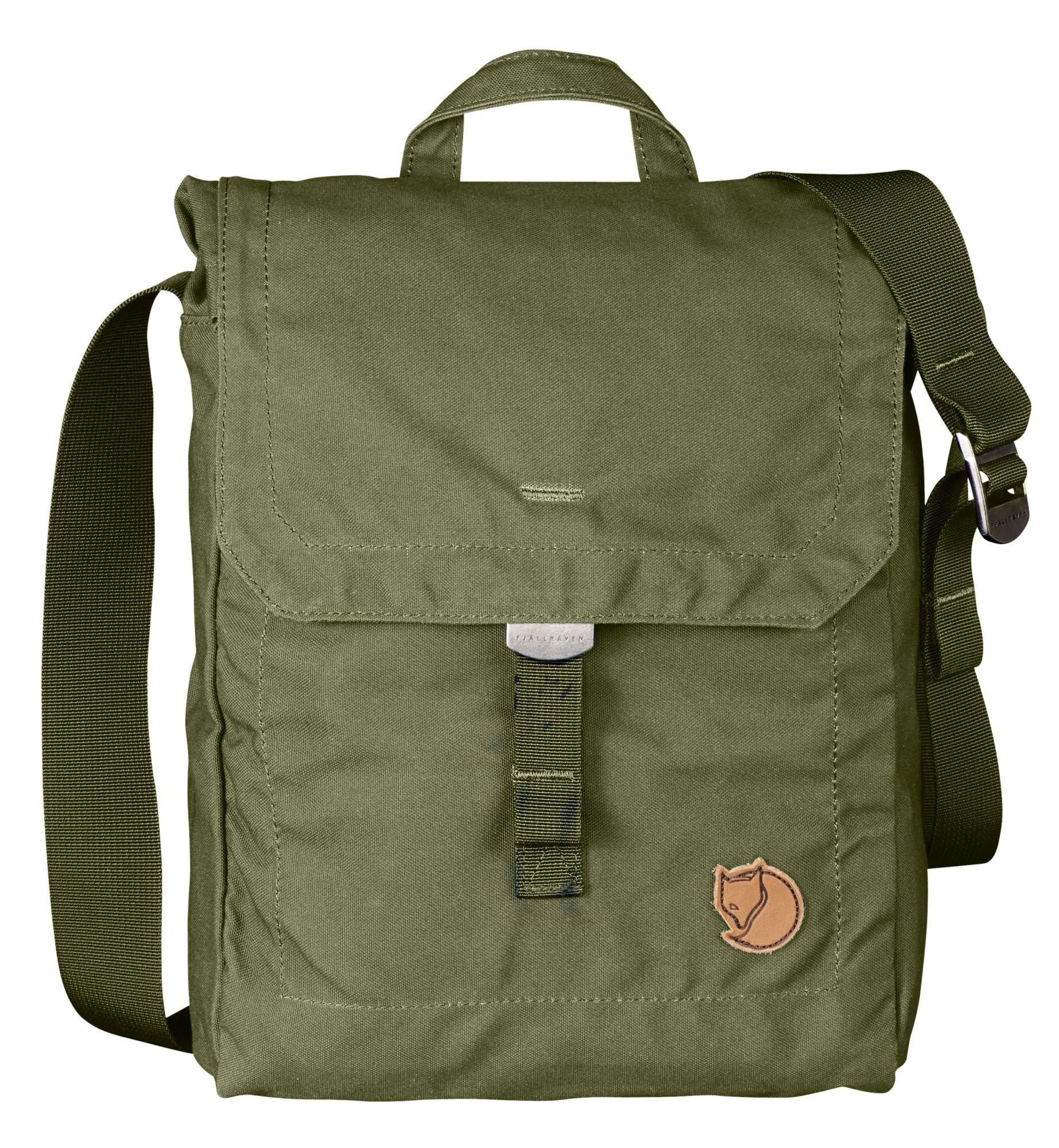Fjällräven Foldsack No. 3 in Green