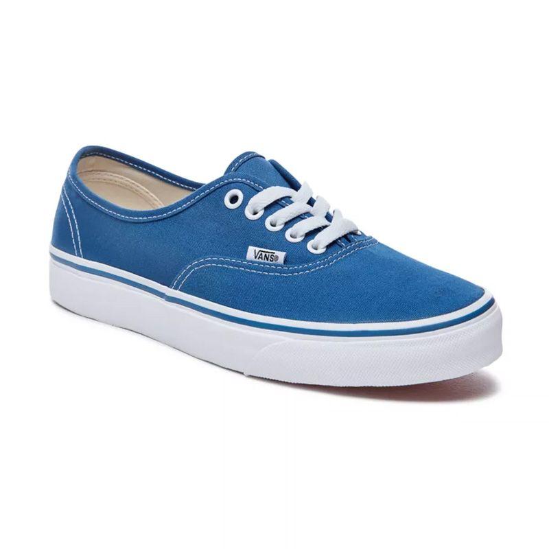 Vans Authentique en Bleu marine   Neon