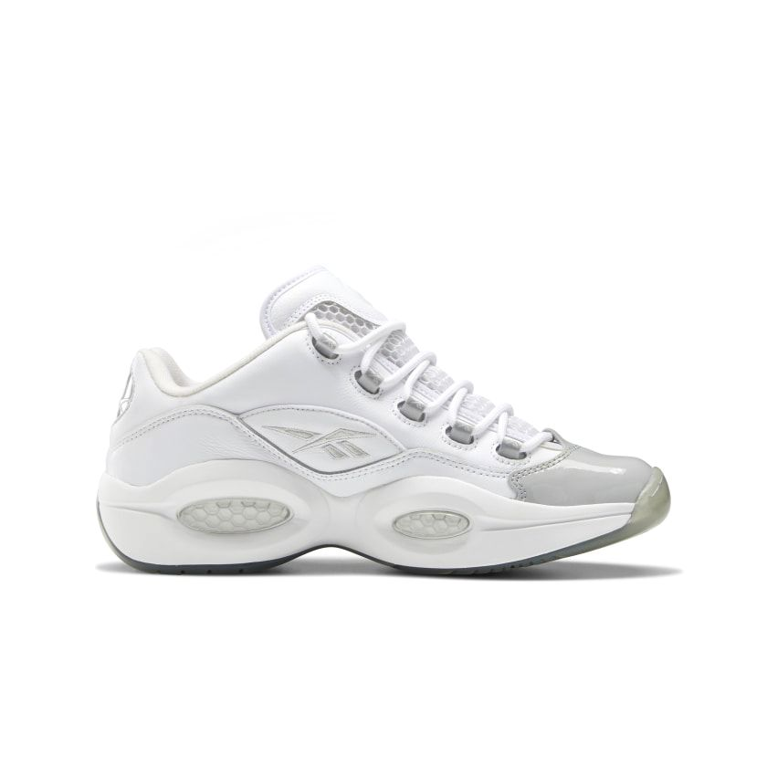 Reebok Question Low Men's Basketball Shoes in White/Pure Grey/Pure Grey