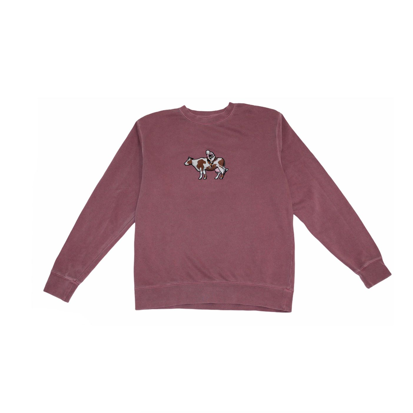 SoYou Clothing Country Club Crewneck in Red
