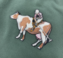 SoYou Clothing Country Club Crewneck in Green